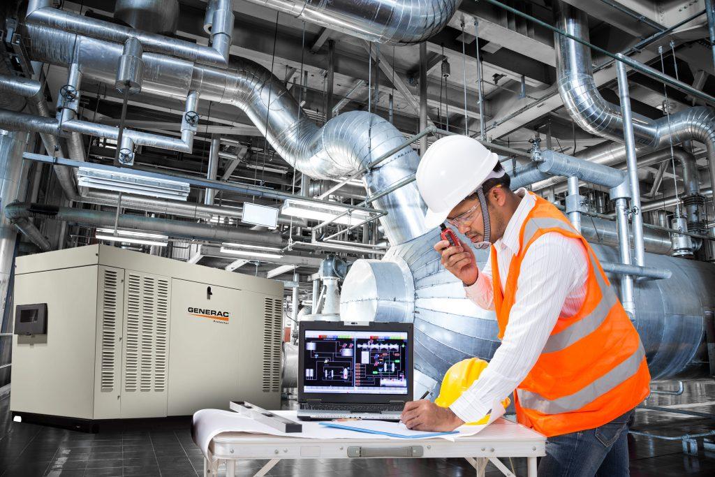 generador eléctrico industrial iksol